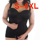 S-6X Plus Size Fat Burner Neoprene Vest Sweat Body Shaper Weight Loss Shapewear