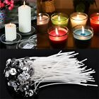 Внешний вид - 100Pcs Candle Wicks Cotton Core Pre Waxed With Sustainers Candle Making Lot
