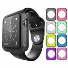 Soft Silicone TPU Bumper Frame Protective Case Cover For Apple Watch 38/42mm 123