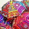 Wholsale Lot 50 Pc Indian Umbrella Traditional Vintage Parasols Decor Sun Shades