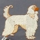 Bearded Collie two pup Dog Embroidery Many Items Quilt Sewing Carols Crate Cover