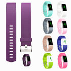 Fashion Fitbit charge2 Replacement Silicone Rubber Band Strap Wristband