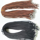 10pcs Fashion Suede Leather String Necklace Cord Jewelry Making Diy Craft Ft