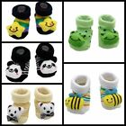 Baby Infant Boy Girl Socks Non-slip Toddler Cartoon Warm Knitted Socks Winter