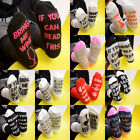 Hot Unisex socks If You can read this Bring Me a Glass of Wine Soft Gift Sock