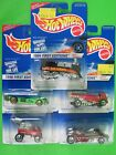 *You Select* Hot Wheels 1996 First Editions Train Plane Wagon Guitar Rocket