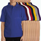 Dickies Collar Shirts Boys short sleeve PIQUE Kids School Uniforms polo shirt