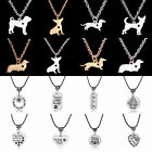 Charm Choker Pendant Necklace Jewelry Dog Cat Paw Prints Memento Friend Gift Hot