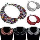 Fashion Jewelry Chain Rhinestone Crystal Choker Chunky Statement Bib Necklace