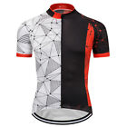 2018 New Mens Road Bike Cycling Jerseys Short Sleeve Polyester Racing Uniform