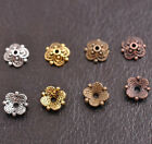100Pcs Flower Bead Caps Floral Spacer Beads 8MM DIY Tibetan Silver Alloy 8MM