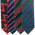 REGIMENTAL MILITARY TIES    ARTILLERY, REME, RLC -  BRITISH ARMY UNIFORM