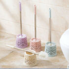 Hot Stainless Steel Bathroom Toilet WC Cleaning Brush and Holder Standing Set