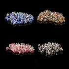 8mm 10mm Diamante Crystal Rivets Studs Leather Bags Shoe Punk Biker Fashion Goth