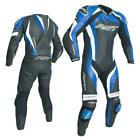 RST 2041 Tractech Evo 3 III Motorcycle Leather One Piece Suit Blue Ce Approved