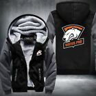 DOTA2 Team Secret Virtus.Pro logo Men Hoodies Jacket Thicken Fleece Turret Inter