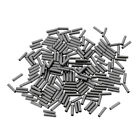 200pcs Single Brass Fishing Crimp Copper Tube Wire Leader Sleeves 1mm-2.4mm