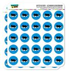 Black Cat Lying on Papers Planner Calendar Scrapbooking Crafting Stickers