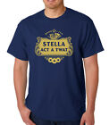 STELLA ACT A TWAT, Funny/novelty/ Men's t-shirt Ideal gift for Christmas