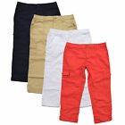 tommy hilfiger womens pants ankle crop cargo chinos capri flag logo casual new