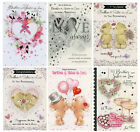 CUTE BROTHER AND SISTER-IN-LAW WEDDING ANNIVERSARY CARD 6 DESIGNS CHOICES1ST P&P