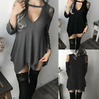Fashion Summer Women Ladies Casual Beach Tops Sexy Sundress Party Mini Dress NEW