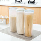 Cylinder Design Noodle Container Spaghetti Canister Cereal Crisper Grains Box