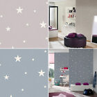 Glow In The Dark Stars Planets Cosmic Wallpaper Textured 2 Colours AS Creation