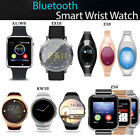 Wrist Waterproof Bluetooth Smart Phone Mate Watch For Android iPhone iOS New ZH