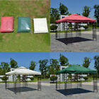 10'X10' Double Tier Outdoor Garden Canopy Gazebo Replacement Top Cover Sun Shade