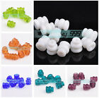 Wholesale 8mm Crystal Lampwork Glass Charms DIY Crafts Loose Spacer Beads