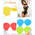 Fashion Women SEXY Shell Adhesive Nipple Covers Stickers Lingerie Pasties New