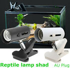 Pet Reptile Light Holder Stand Clip on Ceramic Infrared Heat Emitter Lamp Blub