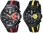 Ferrari Men's Race Day Chronograph 44mm Watch - Choice of Red or Yellow