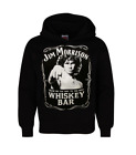 New Mens The Doors Jim Morrison Whiskey Bar hoodie Jim Face
