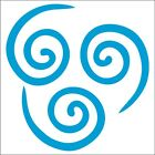 Air Nomad Decal / Sticker -choose Color & Size- Avatar: The Last Airbender Atla
