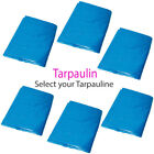 Outdoor Waterproof Blue Tarpaulin Sheets  – Ground Camping Trailer Cover Tarp