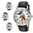 Invicta Disney Limited Edition White Dial Leather Strap Watch
