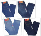 Levis 505 Mens Jeans Regular Fit Straight Leg New with Tags choice color/size
