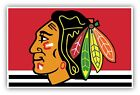 Chicago Blackhawks Vinyl Sticker Decal **SIZES** Cornhole Wall Bumper Truck Car $14.99 USD on eBay