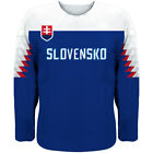 NEW Team Slovakia 2018 World Championship Hockey Jersey Limited Fan Edition BLUE