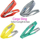 Flat Webbing Strong Cargo Sling–Select Length & Tonne -Lifting Crane Hoist Strap