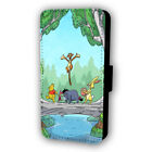 WINNIE THE POOH AND FRIENDS RIVER FLIP STYLE PHONE CASE WITH CARD HOLDER