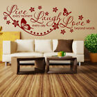 Wall Quotes Live Laugh Love Wall Stickers Wall Art Decal Love Wall Sticker D8