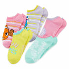 Disney Finding Nemo 5-pk No-Show Socks Multi Colors Girls Fits size 10.5-3.5 NEW