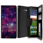 For ZTE Majesty Pro / Pro Plus, Hybrid Wallet ID Case Holder Flip Cover Stand