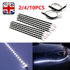 2x 15 Led Flexible Strip Light 3528 Smd Ip65 Waterproof -12v Car Home 30cm Bbtt