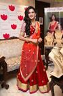 Bollywood Indian FANCY Wear Lehenga Lengha Choli Pakistani Wedding Bridal Dress