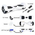 """UL2722 6.5"""" Or 8.5"""" Wheel Electric Motorized Scooter Hoverboard Board Bluetooth"""