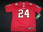Nike Youth Tampa Bay Buccaneers Bucs #24 Darrelle Revis Jersey Red Collar NWT $27.99 USD on eBay